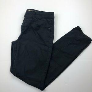 Mossimo Womens Black Skinny Jeans Size 9 EUC